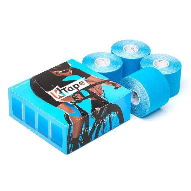 Packaging boîte de 4 bandes de taping Bleu   Bandes k-tape®