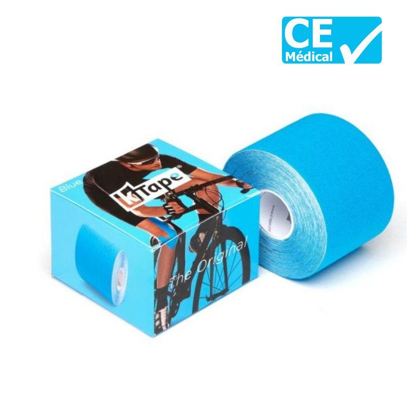 Packaging bande taping K-Tape® 5 m bleu   K-Tape®